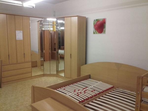Schlafzimmer komplett Ahorn Nachbildung - DIAShop Vogtland